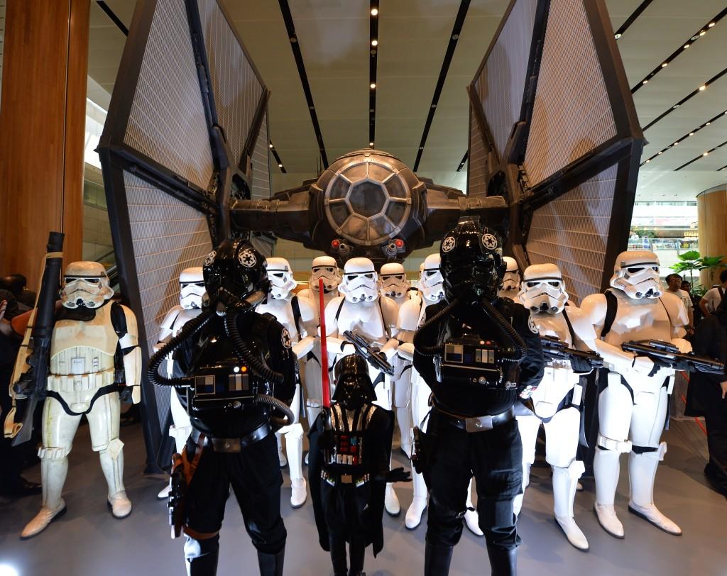 Star Wars TIE Fighter Changi Airport Terminal 2
