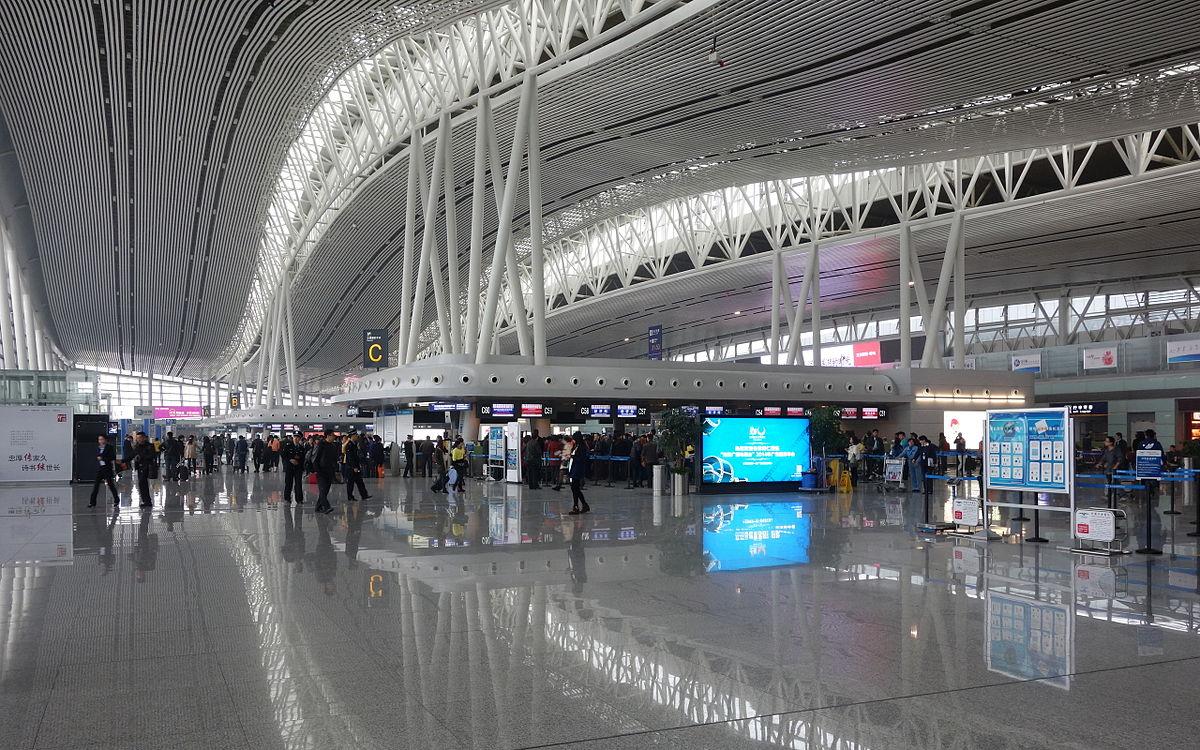 Changsha Huanghua International Airport Terminal 2 Departure Hall