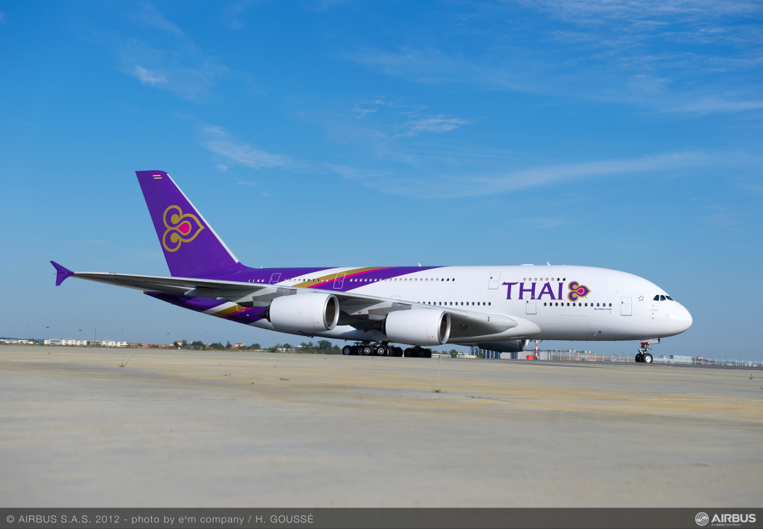 Thai Airways Airbus A380 Thailand Aviation