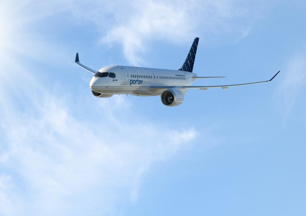 Bomboardier CS100 Porter Airlines
