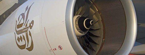 Emirates A380 Engine