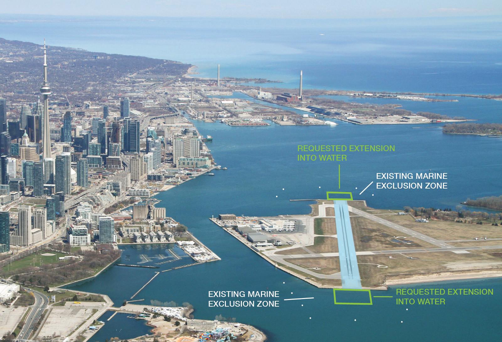 Runway Extension Billy Bishop Toronto City Airport