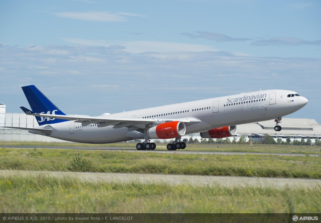 Scandinavian Airlines System (SAS) Airbus A330-300 Enhanced