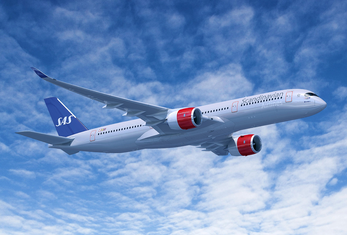 Scandinavian Airlines System (SAS) Airbus A350