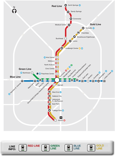 Hartsfield-Jackson Atlanta International Airport (ATL) Train Options