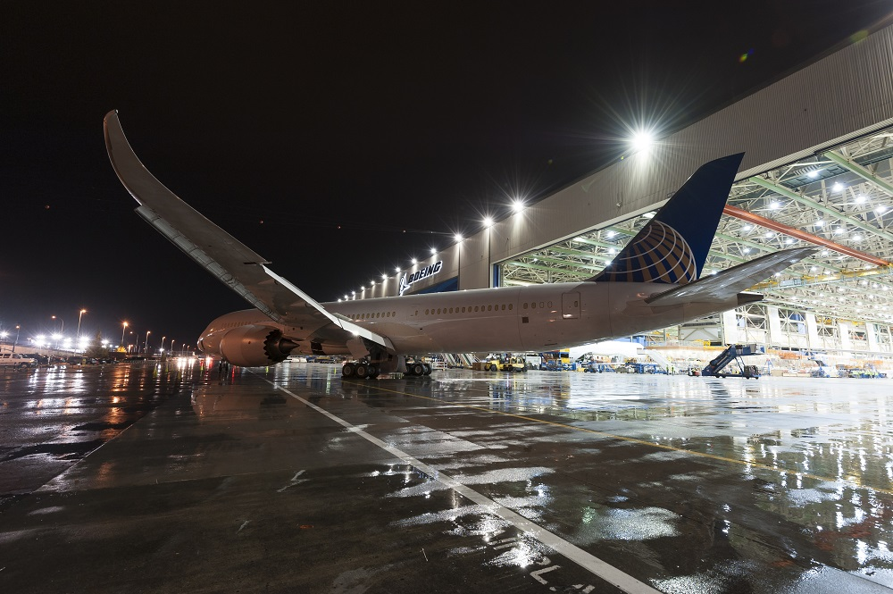United Airlines 787-9 Factory Rollout - April 8, 2014