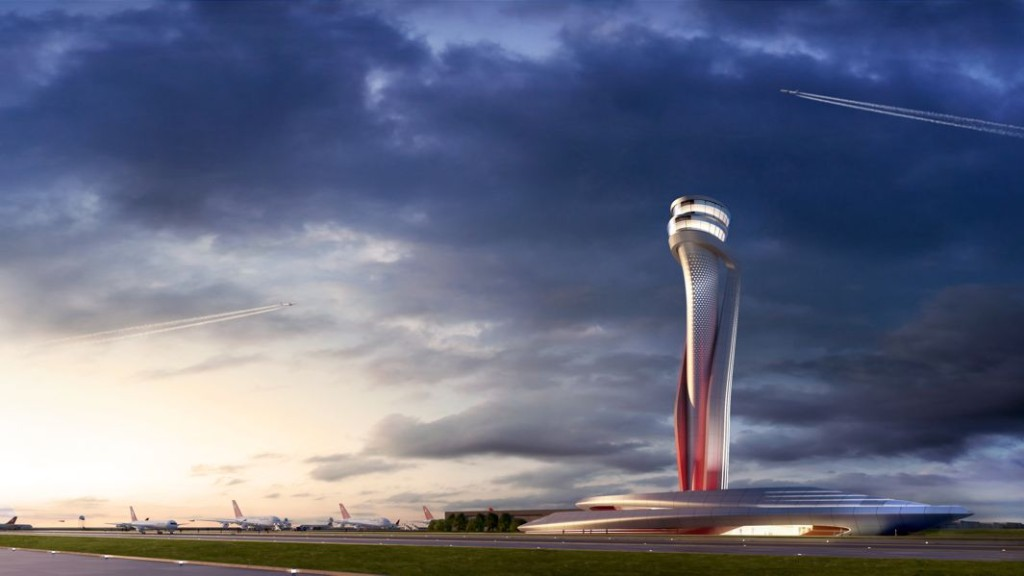 Istanbul New Airport Control Tower