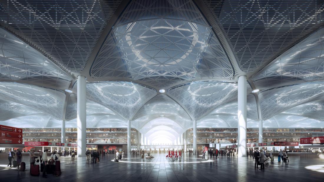 Istanbul New Airport - Departure