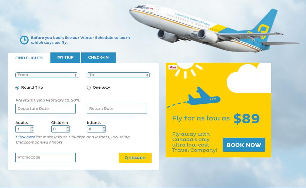 NewLeaf Travel Website
