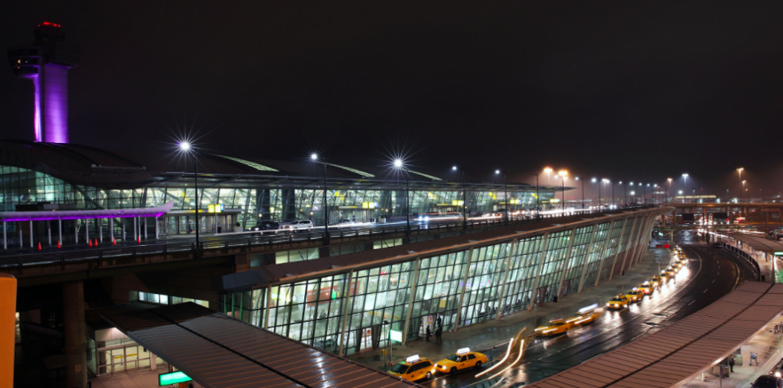 Beacon Technology at New York JFK Airport Terminal 4