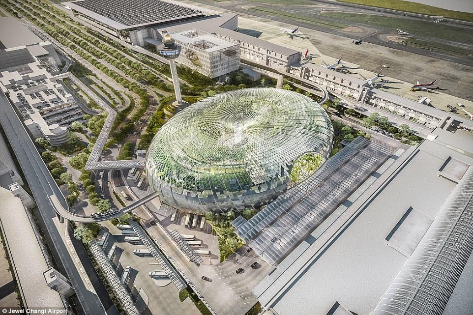 Singapore Changi Airport Terminal 5 Render
