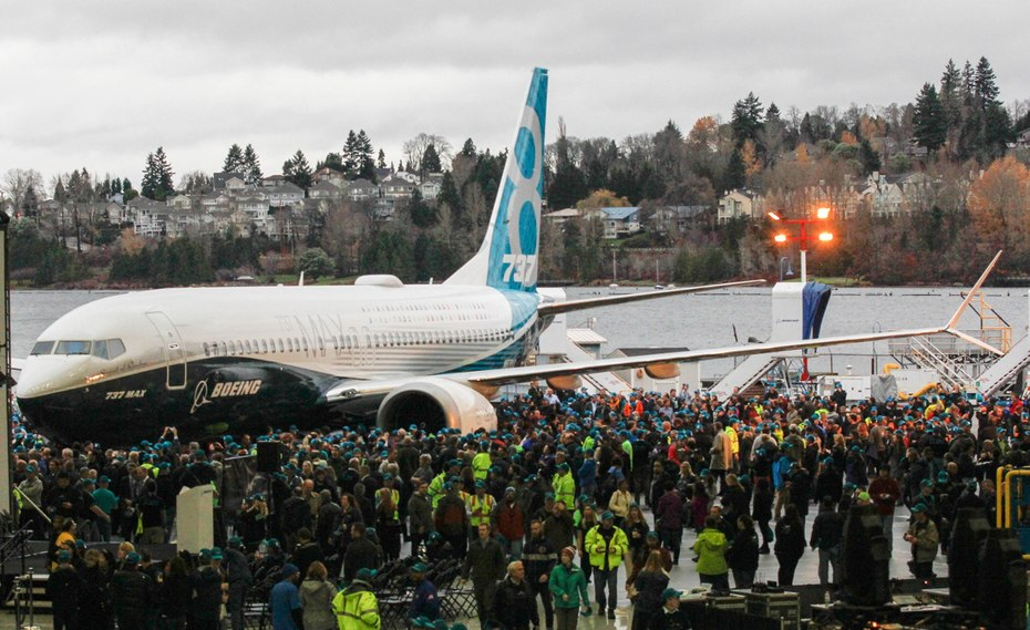 Boeing 737 MAX 8 Complete Assembly