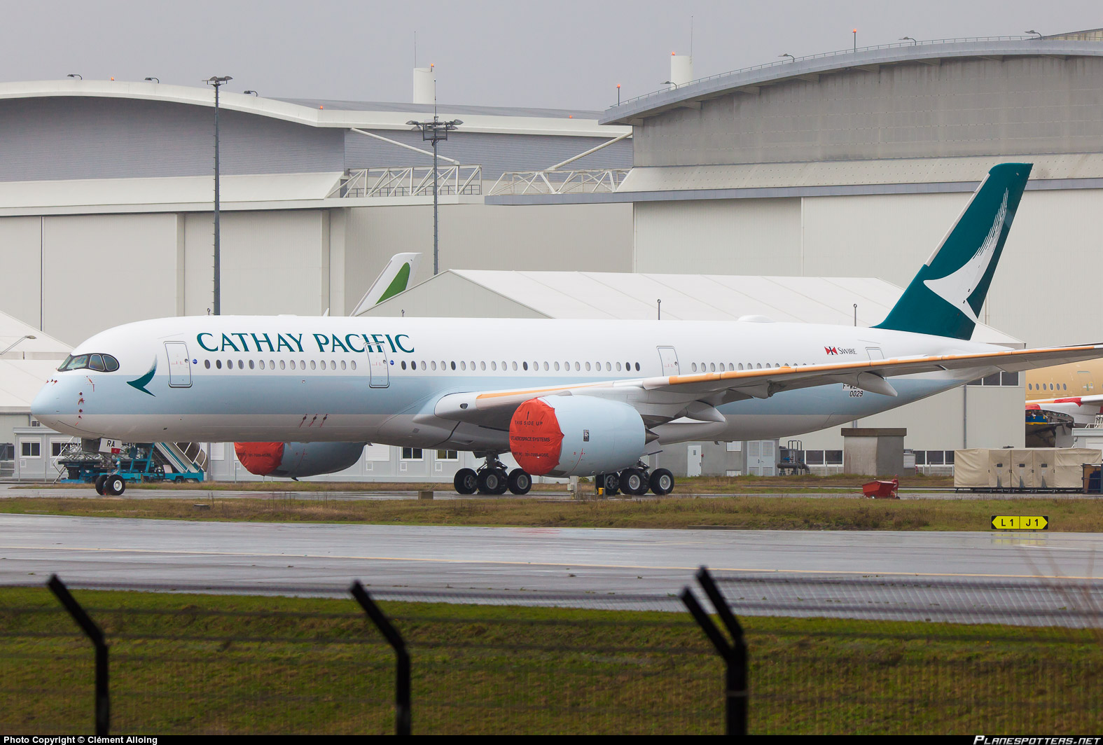 Cathay Pacific Airways Airbus A350 Factory