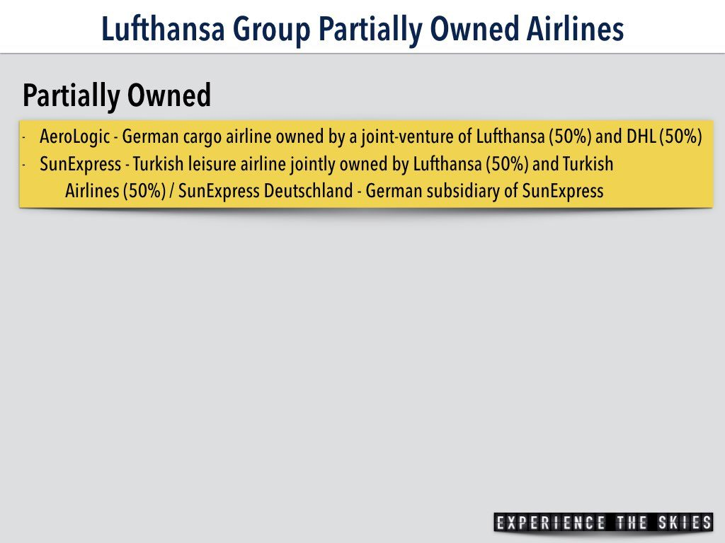 Airlines (Partially Owned)