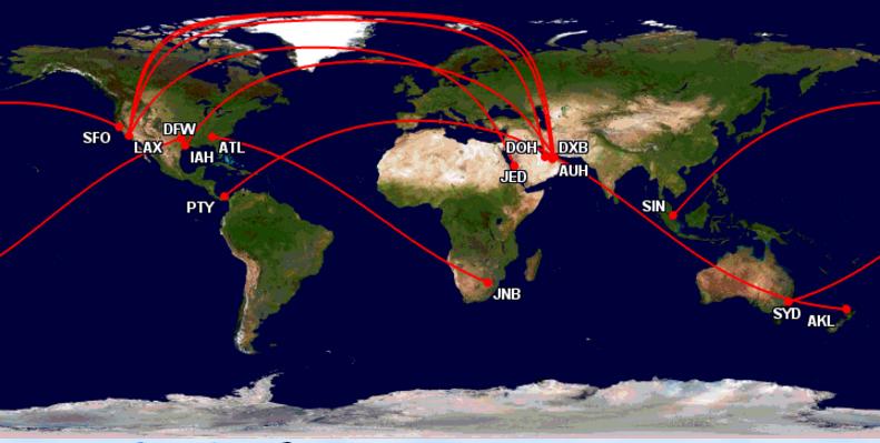 Top 10 Longest Flights 2016 Edition