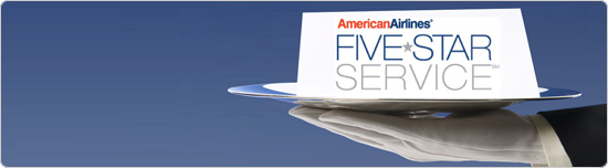 American Airlines Five Star Service