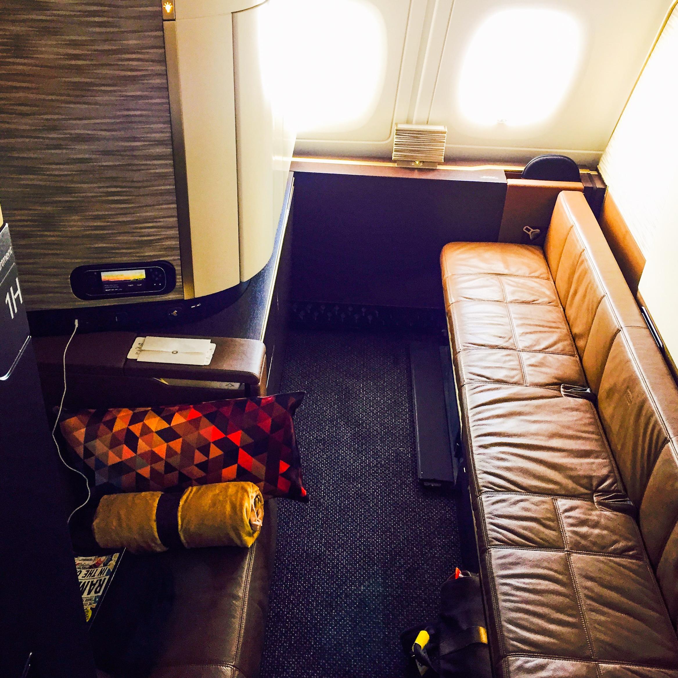 Etihad Airways Airbus A380 First Apartment