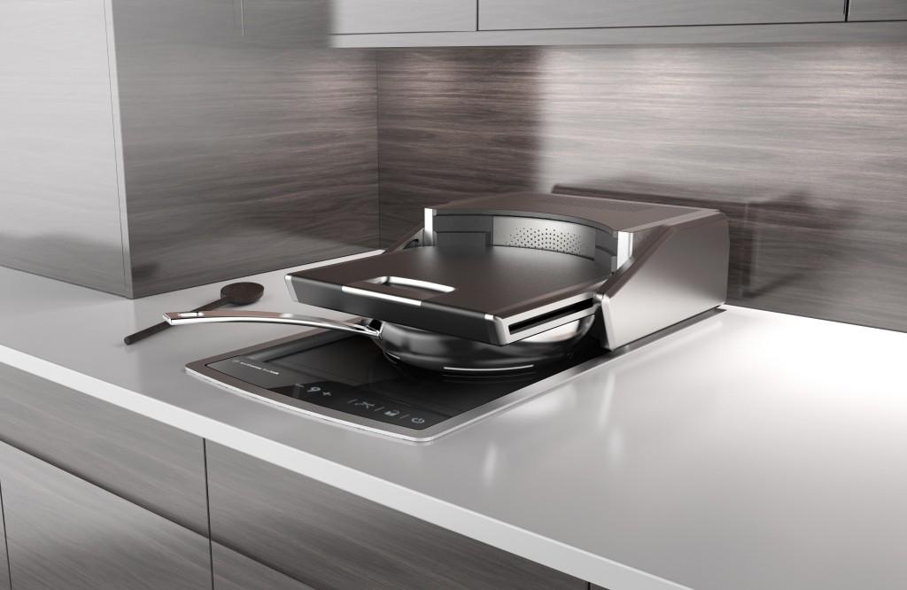 Lufthansa Techik Inductive Cooking Platform