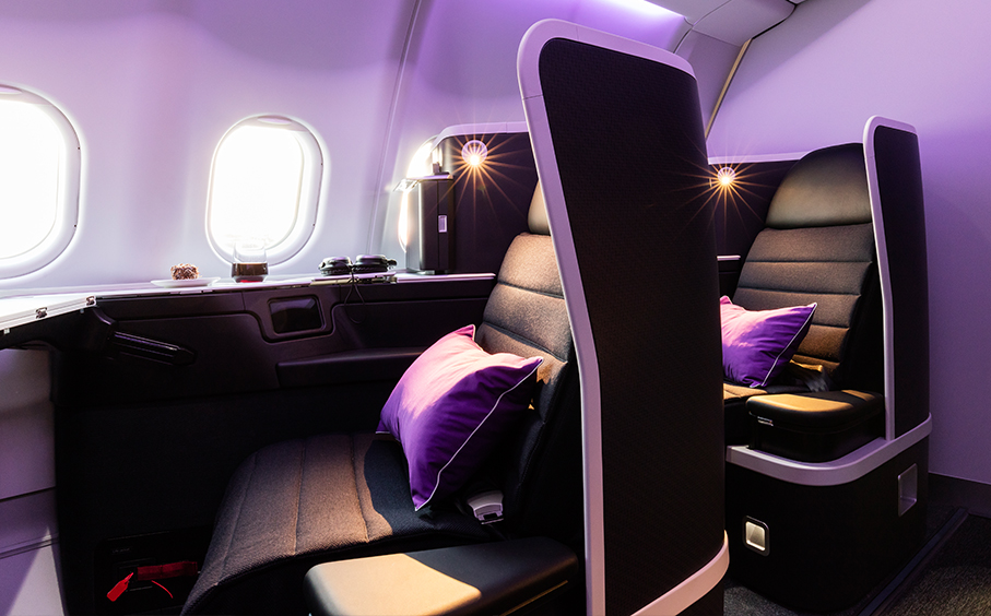 Virgin Australia Airbus 330 and Boeing 777 Business Class