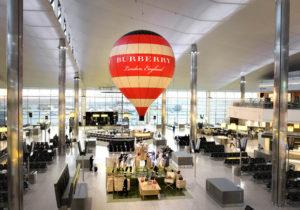 Burberry at London Heathrow Airport