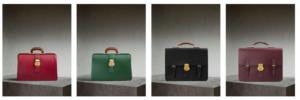 The DK88 Doctor's Bag (red, green), The Medium DK88 Satchel (black, brown)
