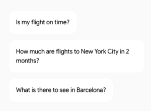 Google Home Function - Travel Information
