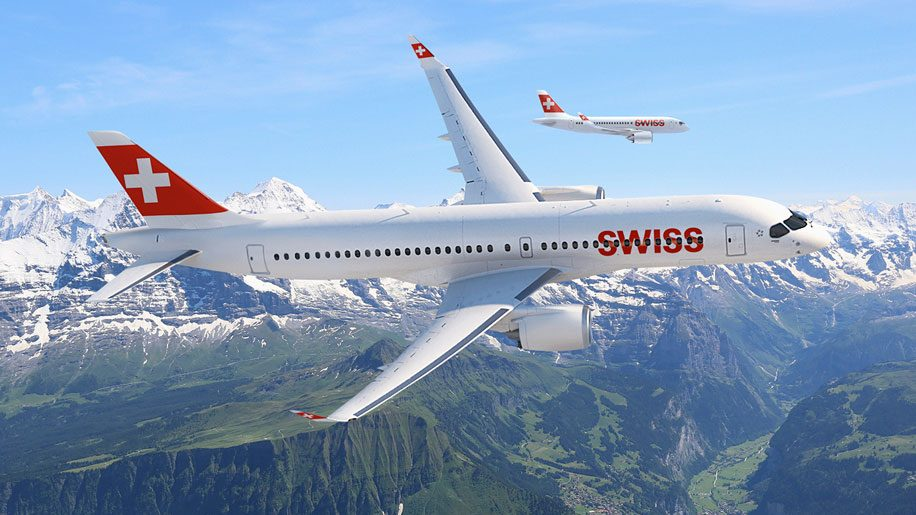 Swiss International Air Lines C-Series CS300