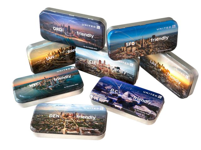 United Airlines Limited Edition Amenity Kits
