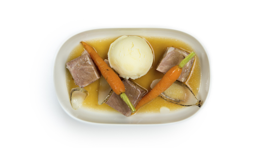 Finnair Vottonen ELO Foundation 100 Year Menu - Karelian Stew