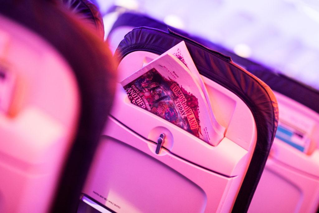 Brussels Airlines Amare Interior