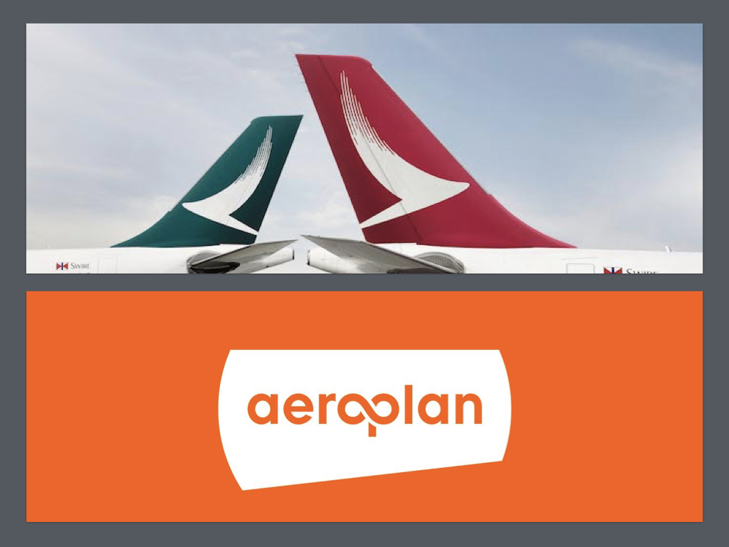 Cathay Pacific and Cathay Dragon Joins Aeroplan
