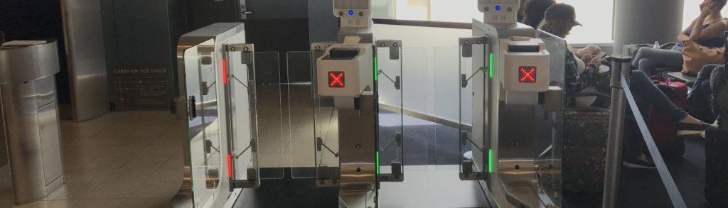 Delta Air Lines Vision-Box Biometric System at New York JFK International Airport
