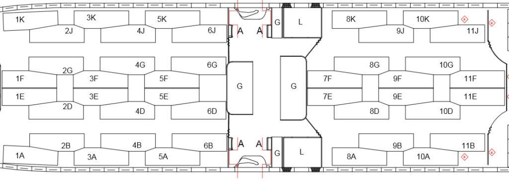 Qsuite Configuration Low Density 777-300ER
