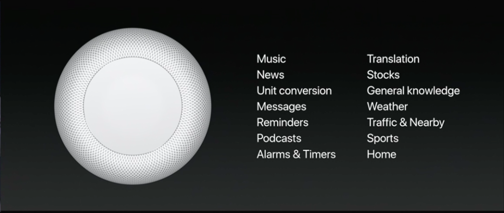 HomePod Commands