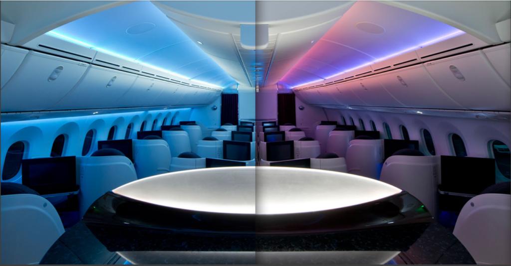 Versatile LED System on 787