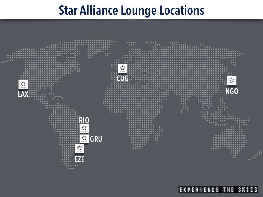 Star Alliance Lounge Locations