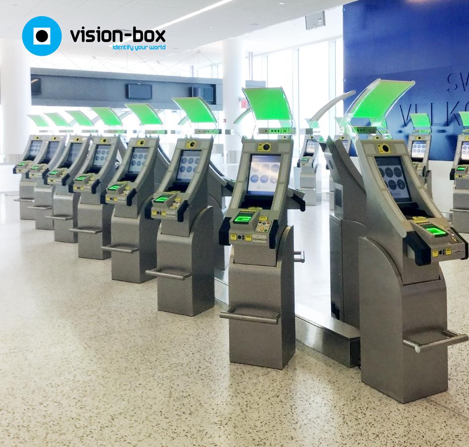 Vision-Box APC Kiosks at Washington Dulles International Airport