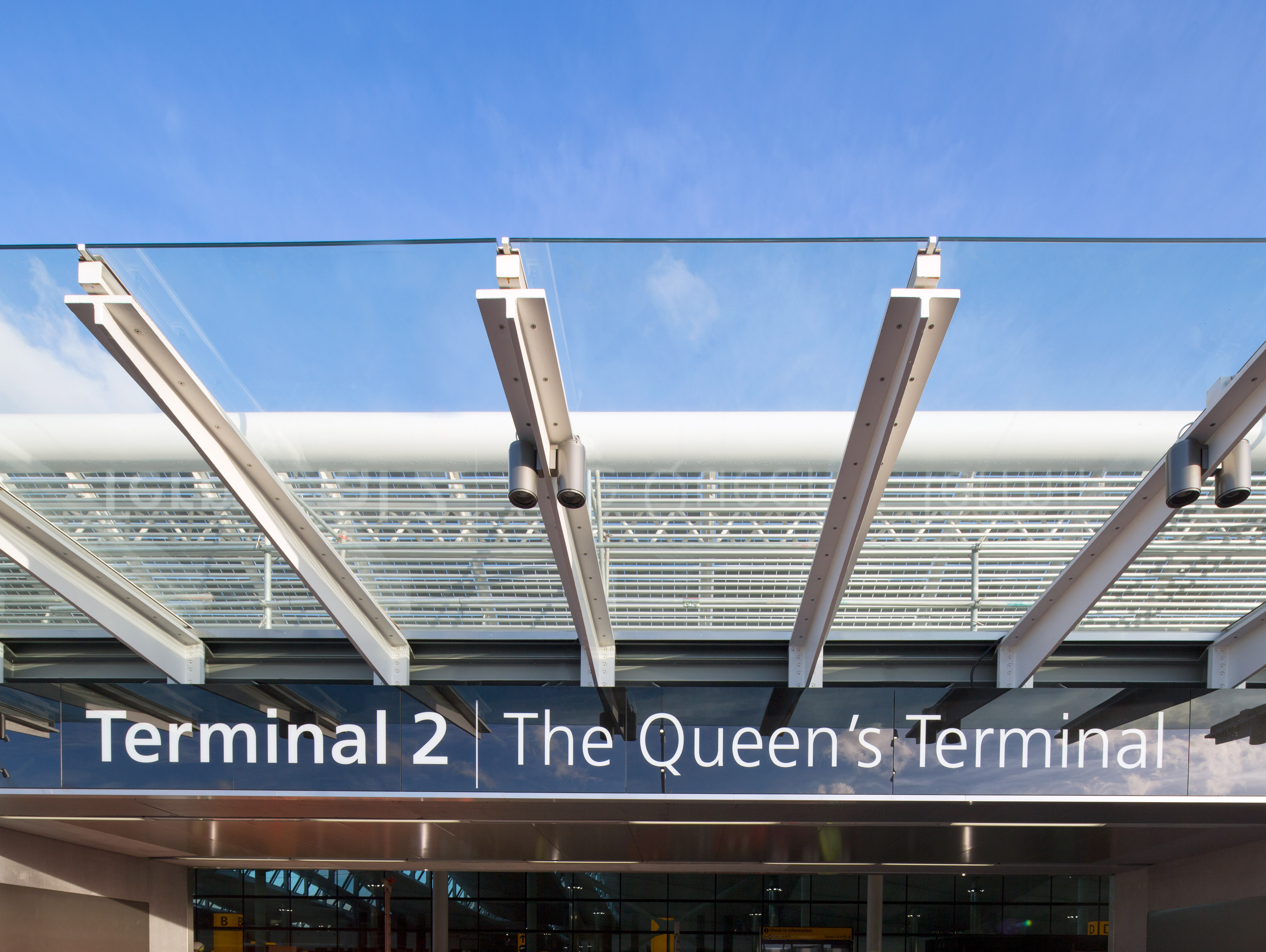 Heathrow Airport Terminal 2 - The Queen's Terminal Entrance