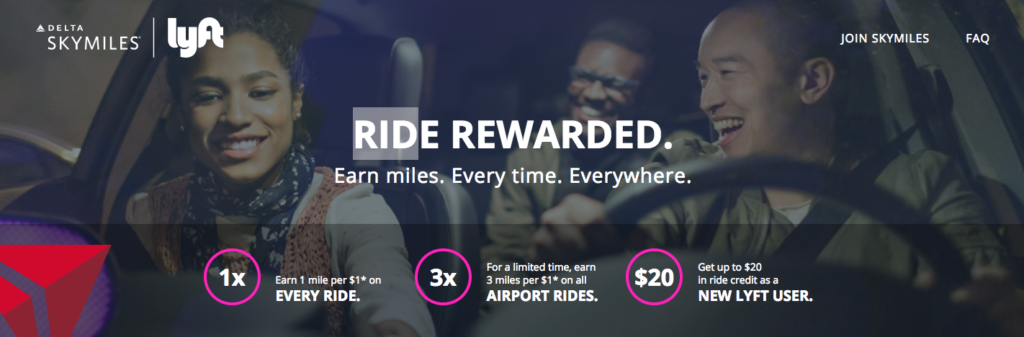 Delta Air Lines and Lyft Partnership
