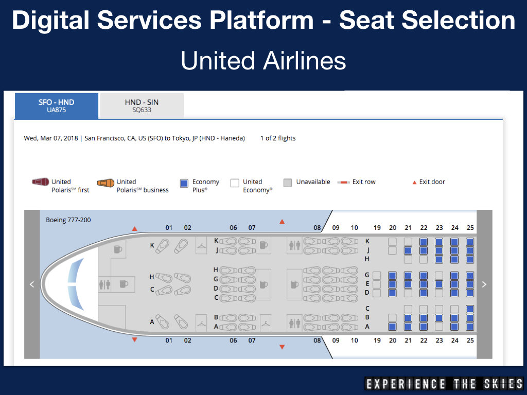 Star Alliance - Advance seat selection in one transaction (United Airlines and Singapore Airlines)