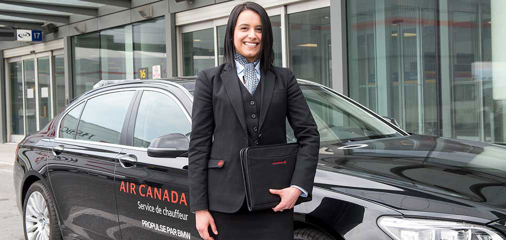 Air Canada Valet Service