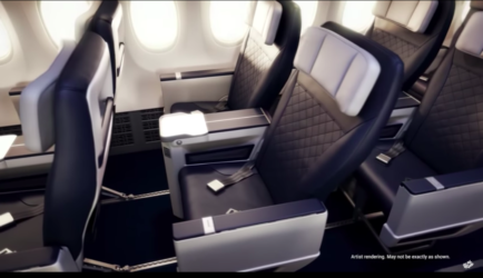 WestJet New Domestic Business Class Cabin Called Premium