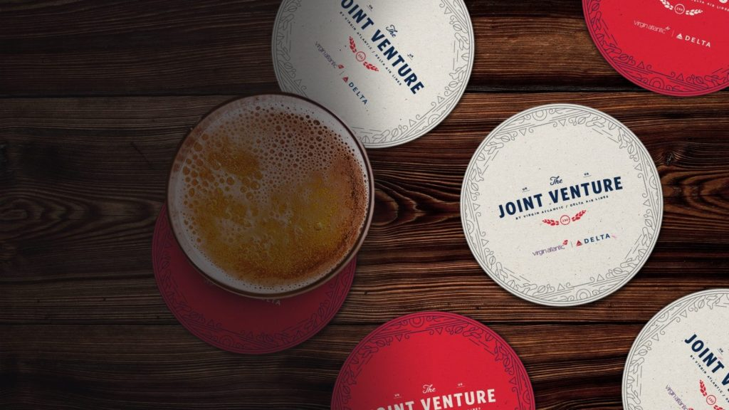 Delta and Virgin Atlantic Opens First Pop-Up Pub In London