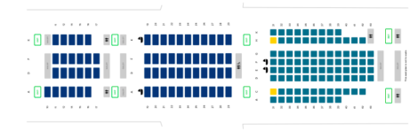 Singapore Airlines A350-900ULR Seat Map